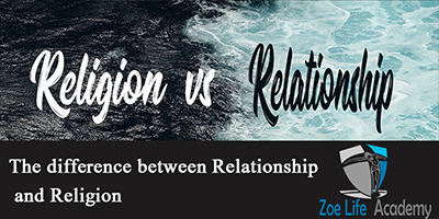 Religion VS Relationship (Available from 5 Aug 2020)